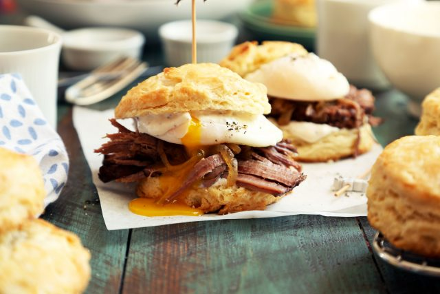 Beef Brisket Breakfast Biscuits photo