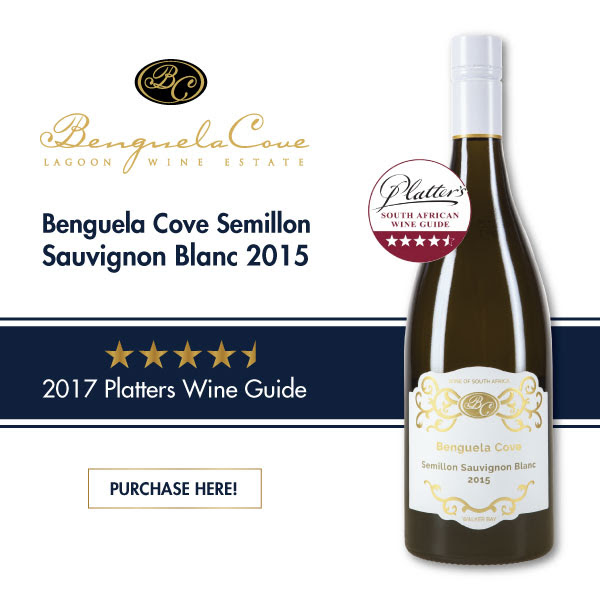 Benguela Cove Semillon Sauvignon Blanc awarded a 4.5 Star in Platter's Wine Guide 2017 photo