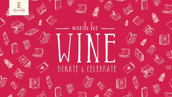 #Words4Wine – Exchange a book for a glass of wine! photo