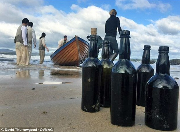 World`s oldest beer is created using yeast found in a bottle from a 220-year-old shipwreck photo