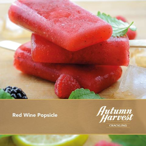 Autumn Harvest Crackling Red Wine Popsicles photo