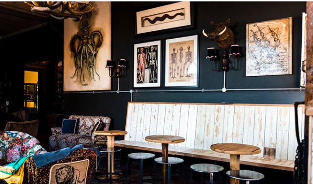 The Striped Horse Bar and Grill serves up ice cold beers and pub grub in Muizenberg photo