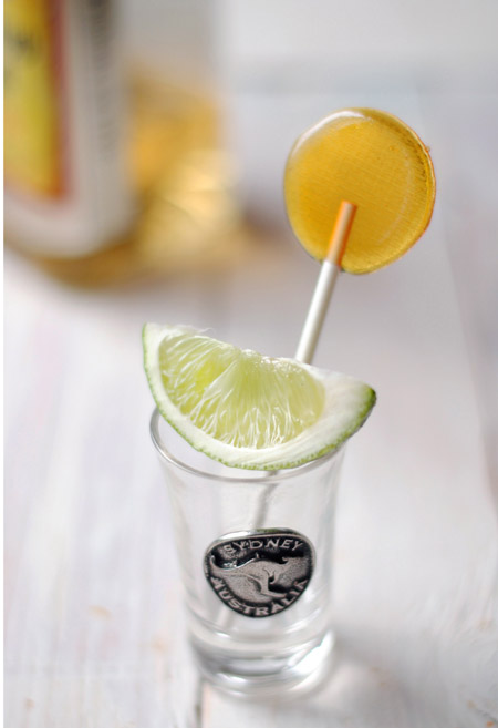 How to make your own Tequila Lollipops photo