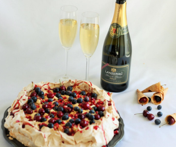 Surprise your guests this Christmas with a Summer Berry Pavlova and Elegant MCC photo