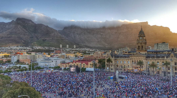 Law Enforcement Officers confiscate 1 679 bottles of alcohol at Cape Town Festival photo