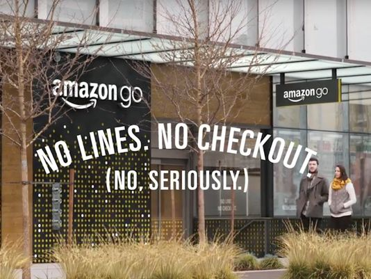 Amazon just opened a grocery store without a checkout line photo