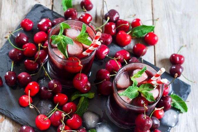Drink cherry juice to lower high blood pressure photo
