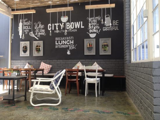 city bowl health kitchen e1481189752275 The Best Courtyard Drinking and Dining Spots in Cape Town