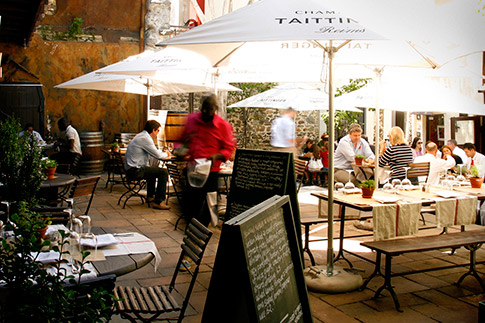 courtyard bizerca bistro The Best Courtyard Drinking and Dining Spots in Cape Town