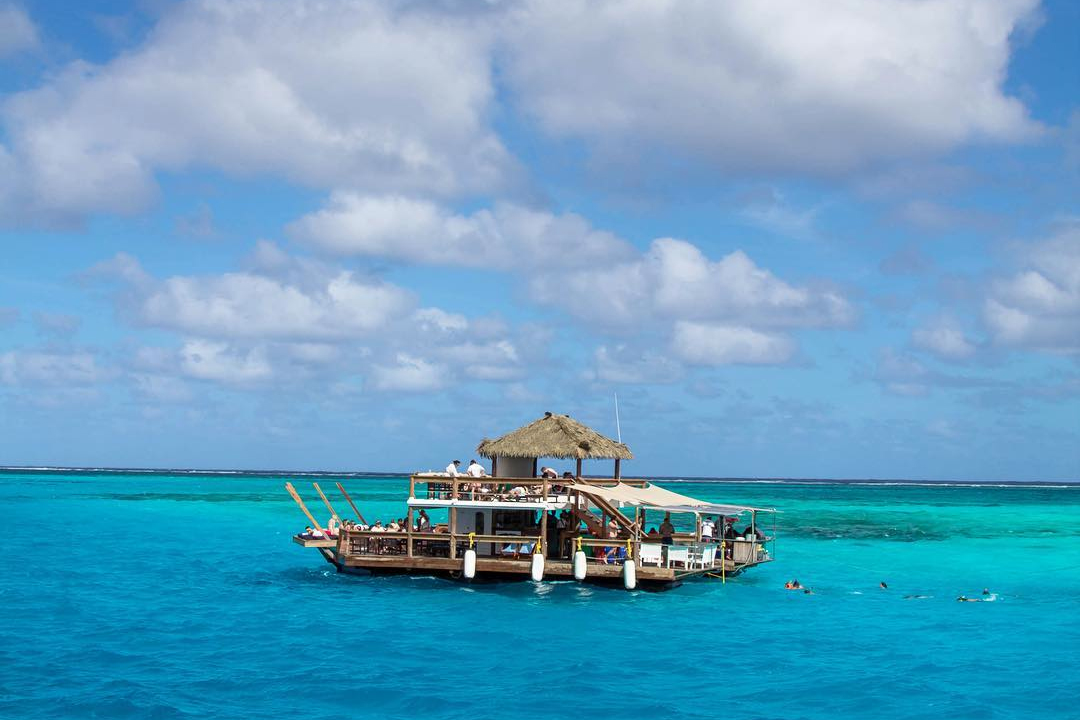 This Remote Overwater Pizzeria And Bar Combines Everything Good In The World photo