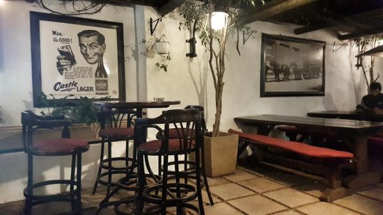 perseverance tavern courtyard area e1481188460457 The Best Courtyard Drinking and Dining Spots in Cape Town