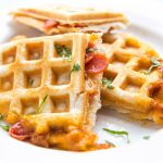 Cheezy Pizza Waffles photo