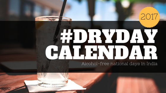 List of Dry Days in India 2017 photo