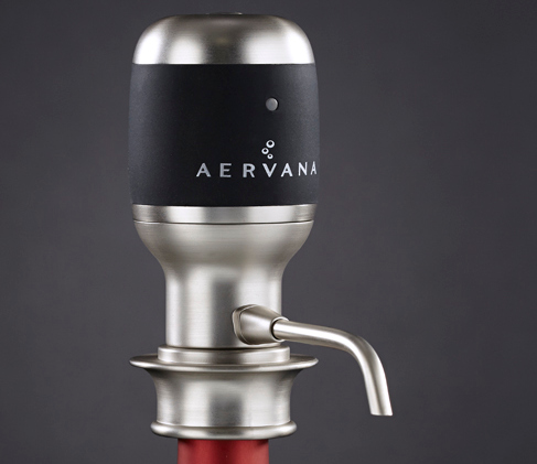 Pour the perfect glass of wine with this Electric Aerating Wine Dispenser photo