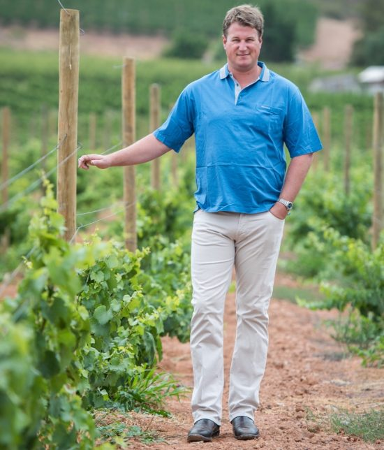 Johann de Wet sees Farmer of Year Award as Recognition for Wine Industry photo