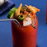 How to make a spicy Kimchi Bloody Mary photo