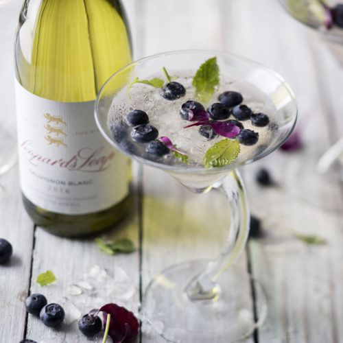 How to make a Leopartini with Sauvignon Blanc photo