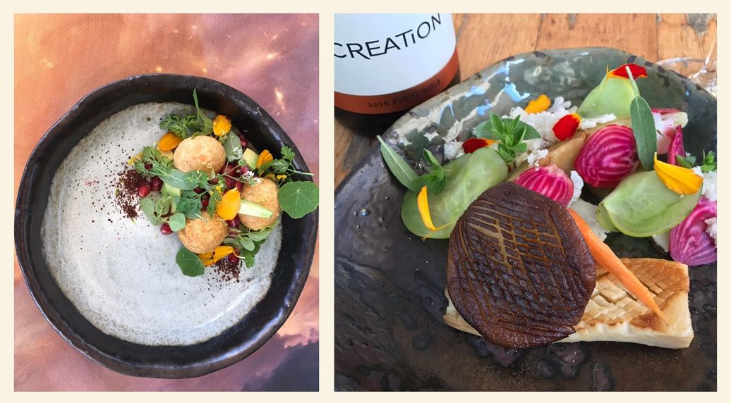 South African Winery Introduces Vegan Tasting Menu photo