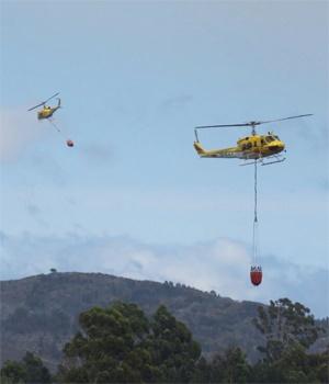 Cape Fires Close In On Historic Lourensford Wine Farm photo