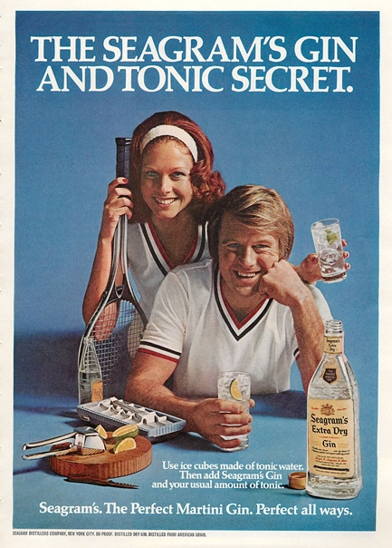 gin secrets Perfect your Gin Cocktail skills with these retro adverts