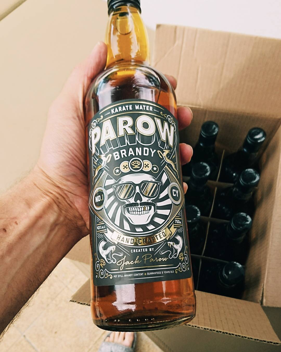 Musician Jack Parow releases his own brandy – Parow Brandy photo