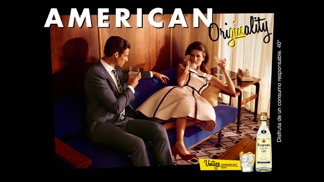 Perfect your Gin Cocktail skills with these retro adverts photo