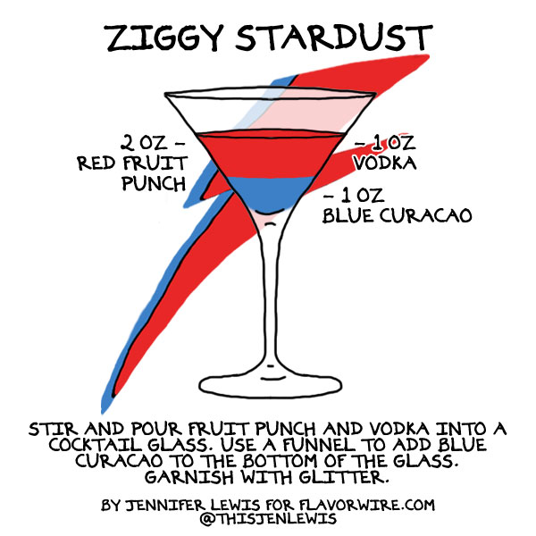 The real Ziggy Stardust Cocktail photo