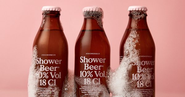 This Beer is designed to be consumed in the shower photo