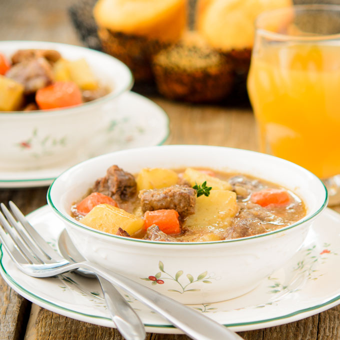 How to make a Beef stew with Cider photo