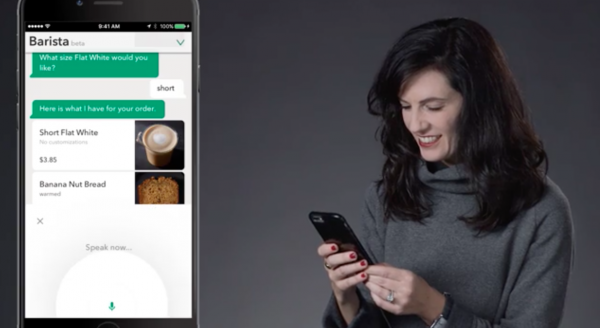 The new Starbucks virtual assistant is the barista version of Siri photo