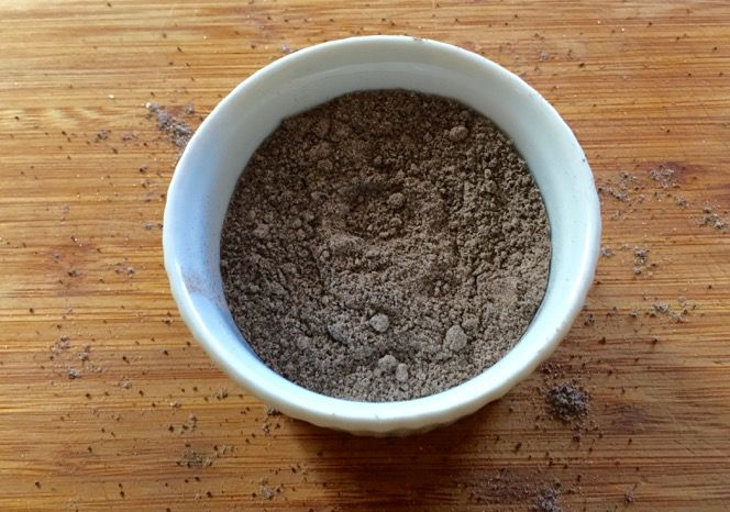 How to make coffee salt photo