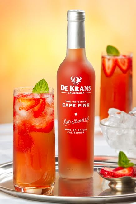 Tickled Pink with De Krans Cape Pink photo