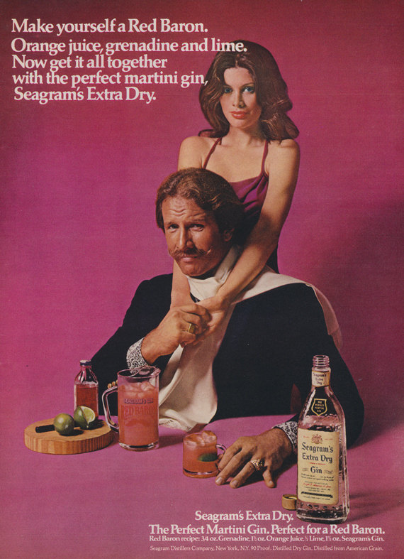 retro gin Perfect your Gin Cocktail skills with these retro adverts