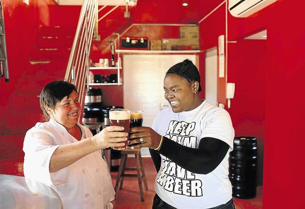 On The Hop: Blondes Are Easy, Brew photo