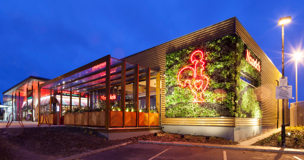 Nando's Is Opening It's First 'eco-restaurant' Today In Cambridge photo