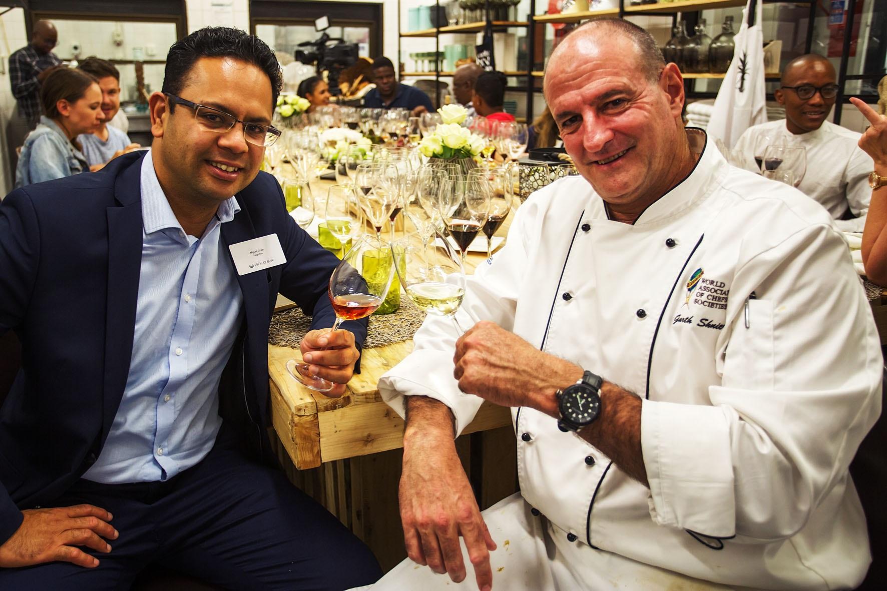 Tsogo Sun shows off wine auction haul in intimate wine tasting photo