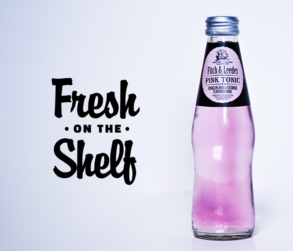 #freshontheshelf: Fitch & Leedes Launches Sa's First Pink Tonic photo