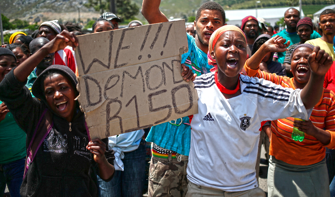 Winelands Strike: The Farmers' Perspective photo