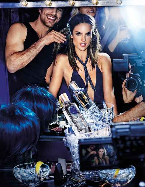 Ciroc Vodka's Onarrival Campaign With Alessandra Ambrosio photo