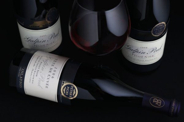 Bouchard Finlayson Releases Older Vintages From Library Stock photo