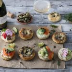 Make Your Own Lavish Breakfast Bagels photo
