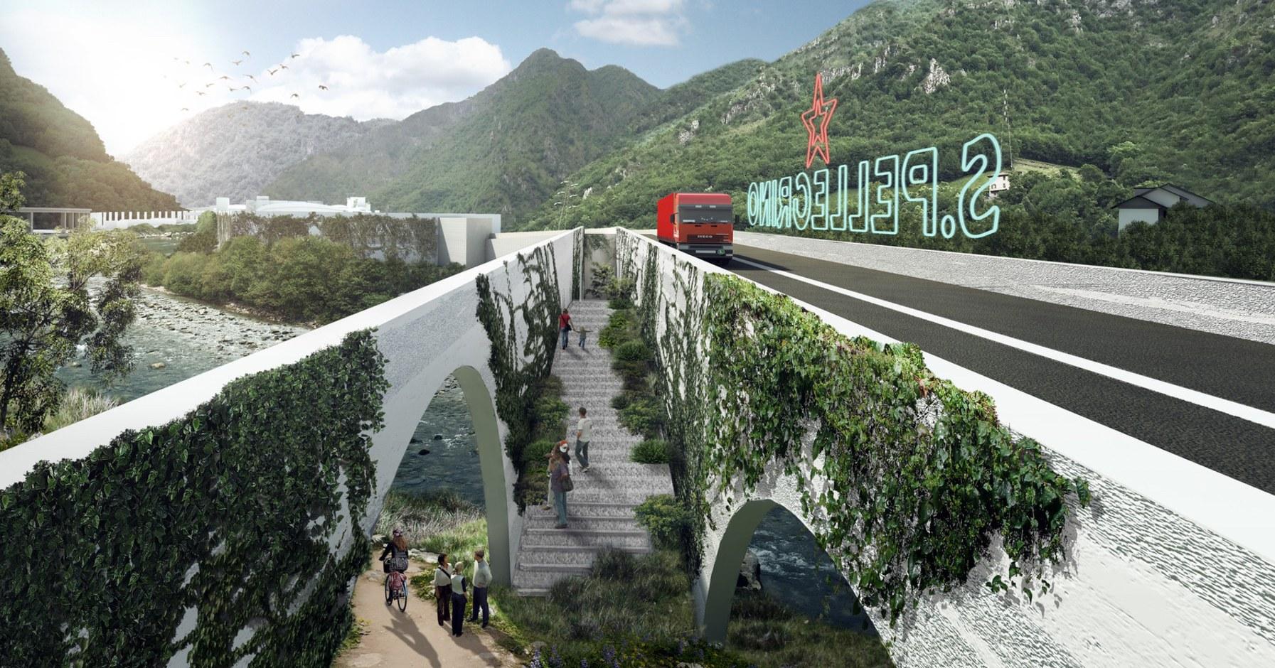Bjarke Ingels Reveals Designs For A Futuristic San Pellegrino Headquarters photo