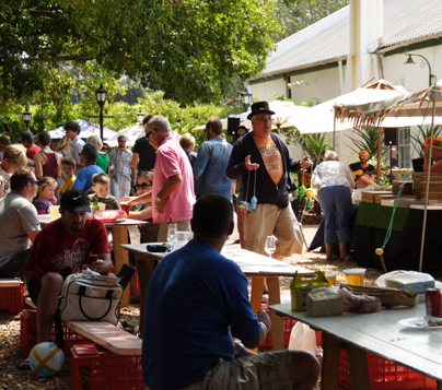 Win a VIP experience for Bastille Day at Blaauwklippen Family Market worth R500 photo