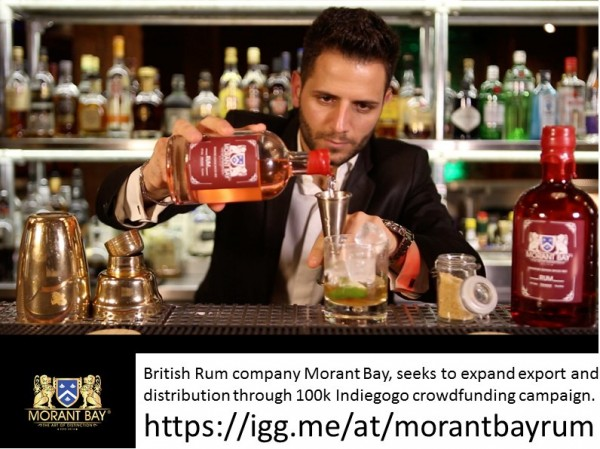 Morant Bay Rum Indiegogo Crowdfunding Campaign photo