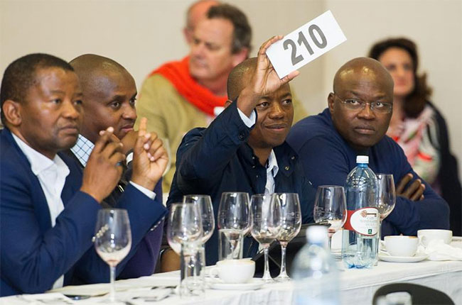 South African Wine Auction Breaks New Record photo