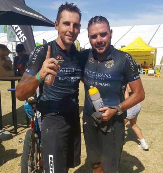 Cape Epic Stage One, and the Heat is On, On and On photo