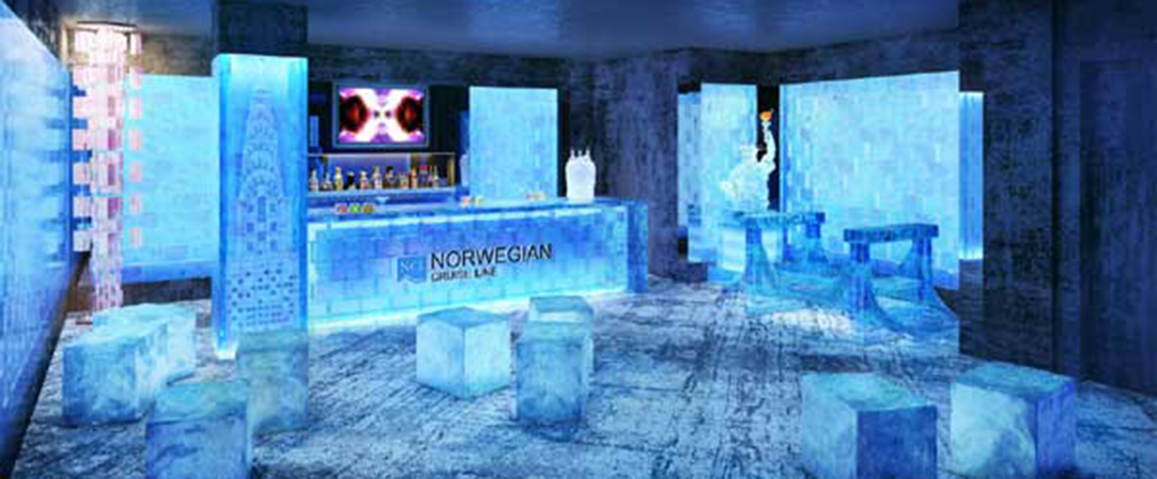 Ice Bar: The Coolest Bar In The Caribbean Is On A Cruise Ship photo