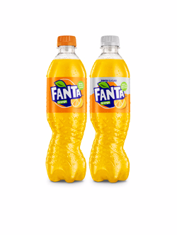 Fanta Launches New 'visual Identity' With Twisted Bottle photo