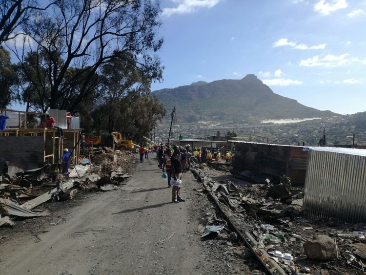Community Faces Uncertain Future After Fire In Imizamo Yethu photo