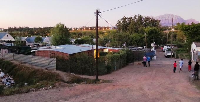 Wine estate in court bid to evict families photo